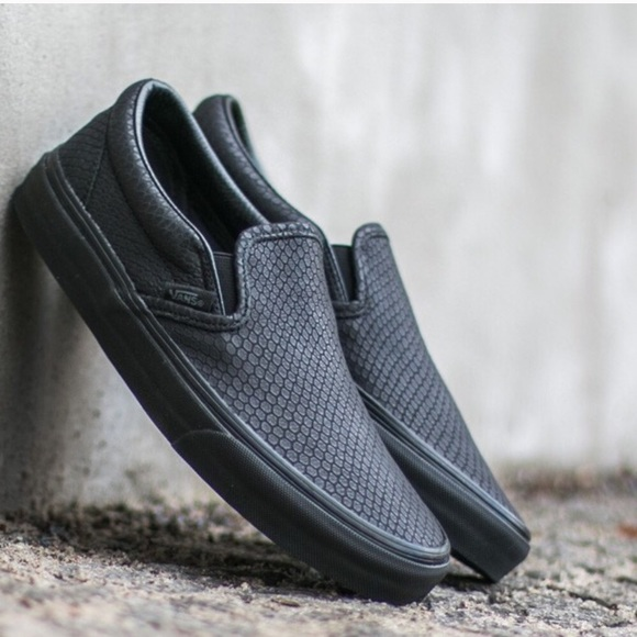 012a09377d Vans Shoes - Vans Classic Slip-On in Snake Leather